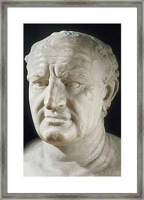 Vespasian, Titus Flavius Vespanius Framed Print by Everett