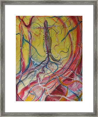 Vessels Of Life Framed Print by Made by Marley