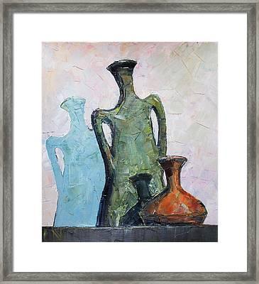 Vessels Framed Print by Vladimir Naryzhny