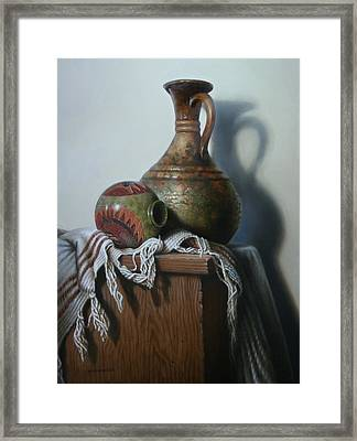 Vessels Framed Print by William Albanese Sr