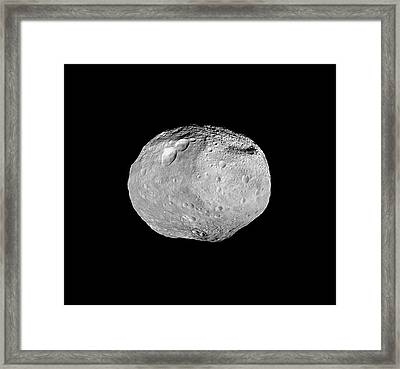 Vesta Asteroid Framed Print