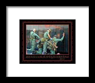 Patriotism Framed Prints