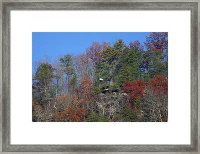 Veterans Day On The Gorge Framed Print by Timothy Connard