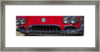 Vets Lights And Grill Framed Print