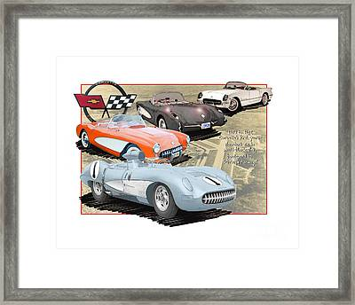 Vettes Grow To Sebring-size Framed Print by Dan Knowler