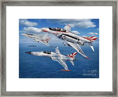 Vf-111 Sundowners Heritage Framed Print