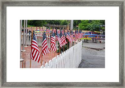 VFW Framed Print by Luis-Enrique Valles