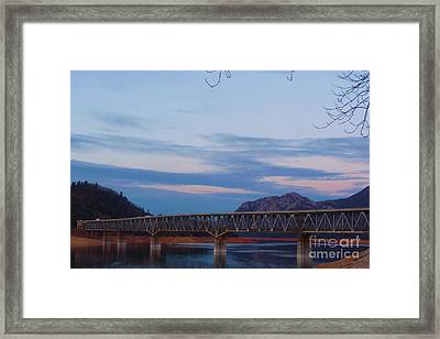 V.f.w. Memorial Bridge Framed Print by Joshua Greeson