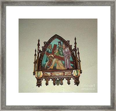 Via Crucis 7 Framed Print