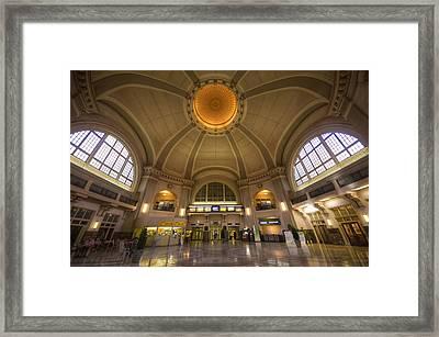Via Rail Framed Print