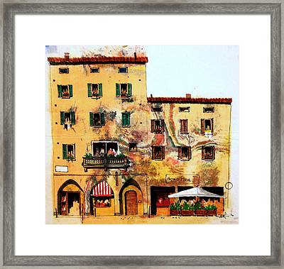 Via Sarafina Framed Print