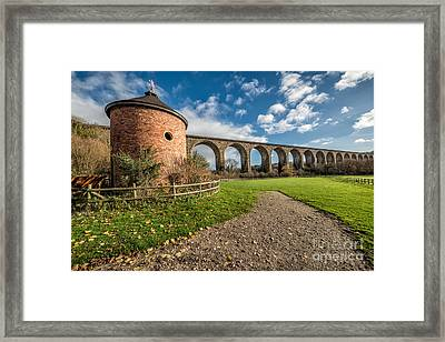 Viaduct Ty Mawr Park Framed Print by Adrian Evans