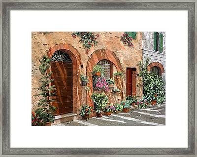 Viaggio In Toscana Framed Print