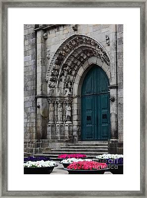 Viana Do Castelo Cathedral Framed Print by James Brunker