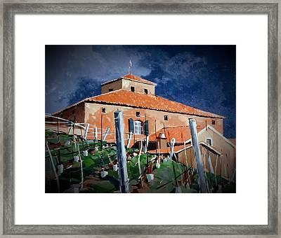 Viansa Framed Print