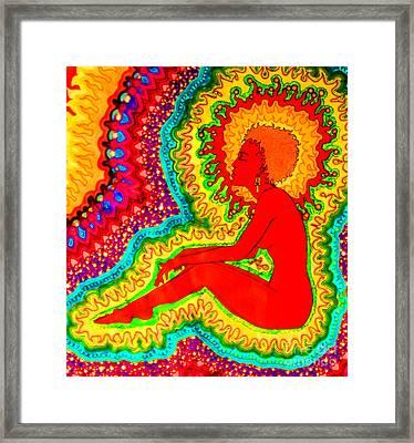 Vibrant 2 Framed Print