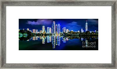Gold Coast Shines Framed Print