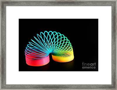 Framed Print featuring the photograph Vibrant by Lawrence Burry
