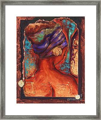 Vibrant Reflection Framed Print