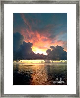 Vibrant Skies 2 Framed Print