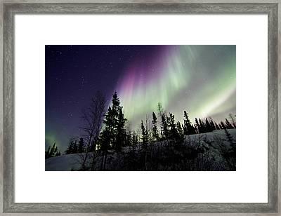 Vibrant Sky Framed Print