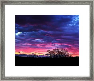 Vibrant Sunrise Framed Print by Tim Buisman