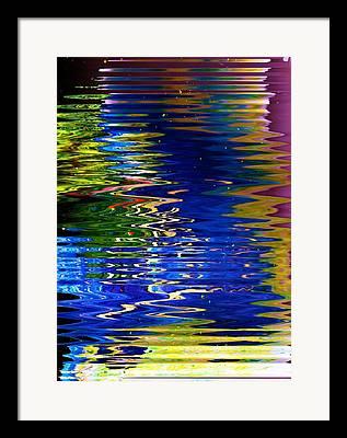 Kinesthetic Framed Prints