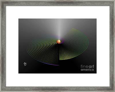 Vibration Framed Print