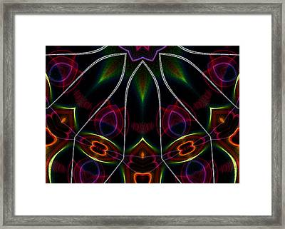 Vibrational Tendencies Framed Print