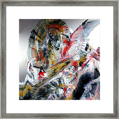 Vibrations Framed Print by David Hatton