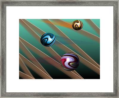 Vibrations Framed Print