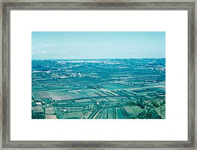Vicenza Italy 1962  Framed Print by Cumberland Warden