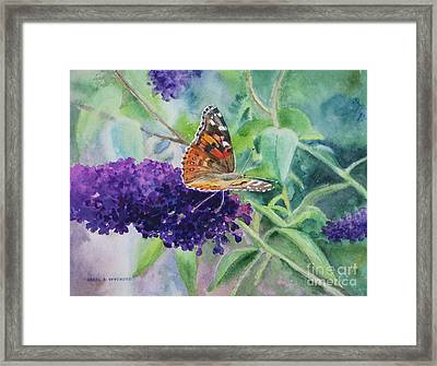 Monarch Butterfly Framed Print by Karol Wyckoff