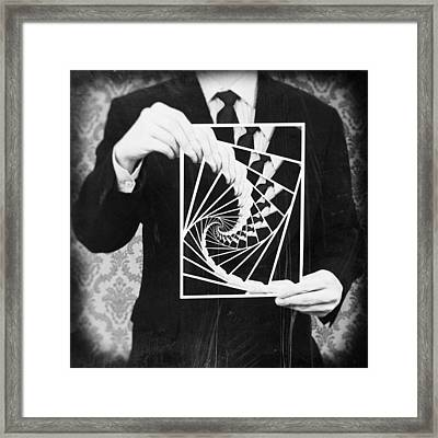 Vicious Circle Framed Print by Taylan Apukovska