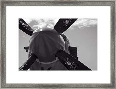 Vickers Spitfire Prop Framed Print