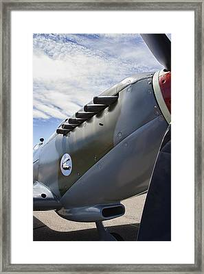 Vickers Spitfire W W 2 Aircraft Framed Print