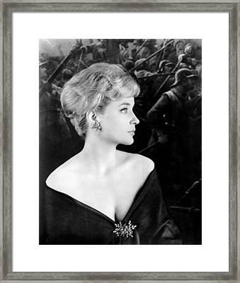Victim, Sylvia Syms, 1961 Framed Print by Everett