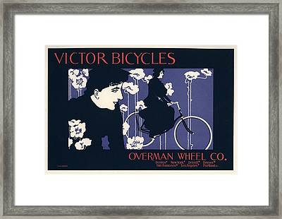 Victor Bicycles Framed Print by Gianfranco Weiss