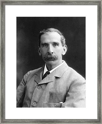 Victor Horsley Framed Print by National Library Of Medicine