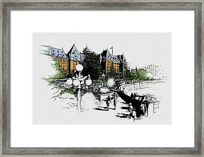 Victoria Art 001 Framed Print by Catf