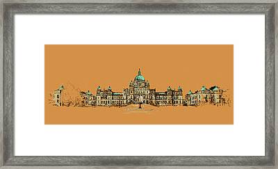 Victoria Art 005 Framed Print by Catf
