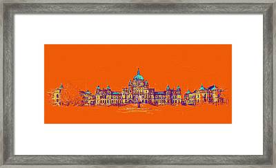 Victoria Art 006 Framed Print by Catf