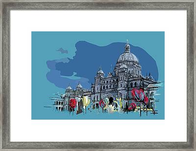 Victoria Art 007 Framed Print by Catf