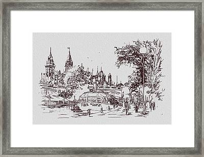 Victoria Art 013 Framed Print by Catf