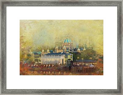 Victoria Bc Canada Framed Print