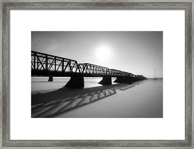 Victoria Bridge 1 Framed Print by Eric Soucy