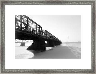 Victoria Bridge 5 Framed Print by Eric Soucy