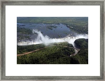 Victoria Falls  Framed Print by Aidan Moran