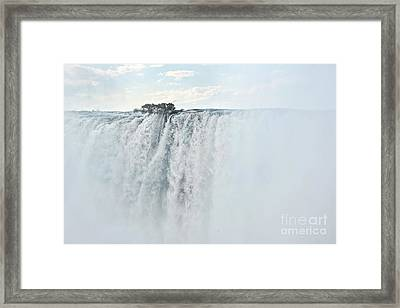 Victoria Falls Framed Print by Delphimages Photo Creations