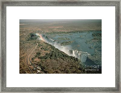 Victoria Falls Framed Print by Gregory G. Dimijian